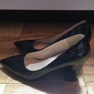 Sergio Todzi Patent Leather Heel